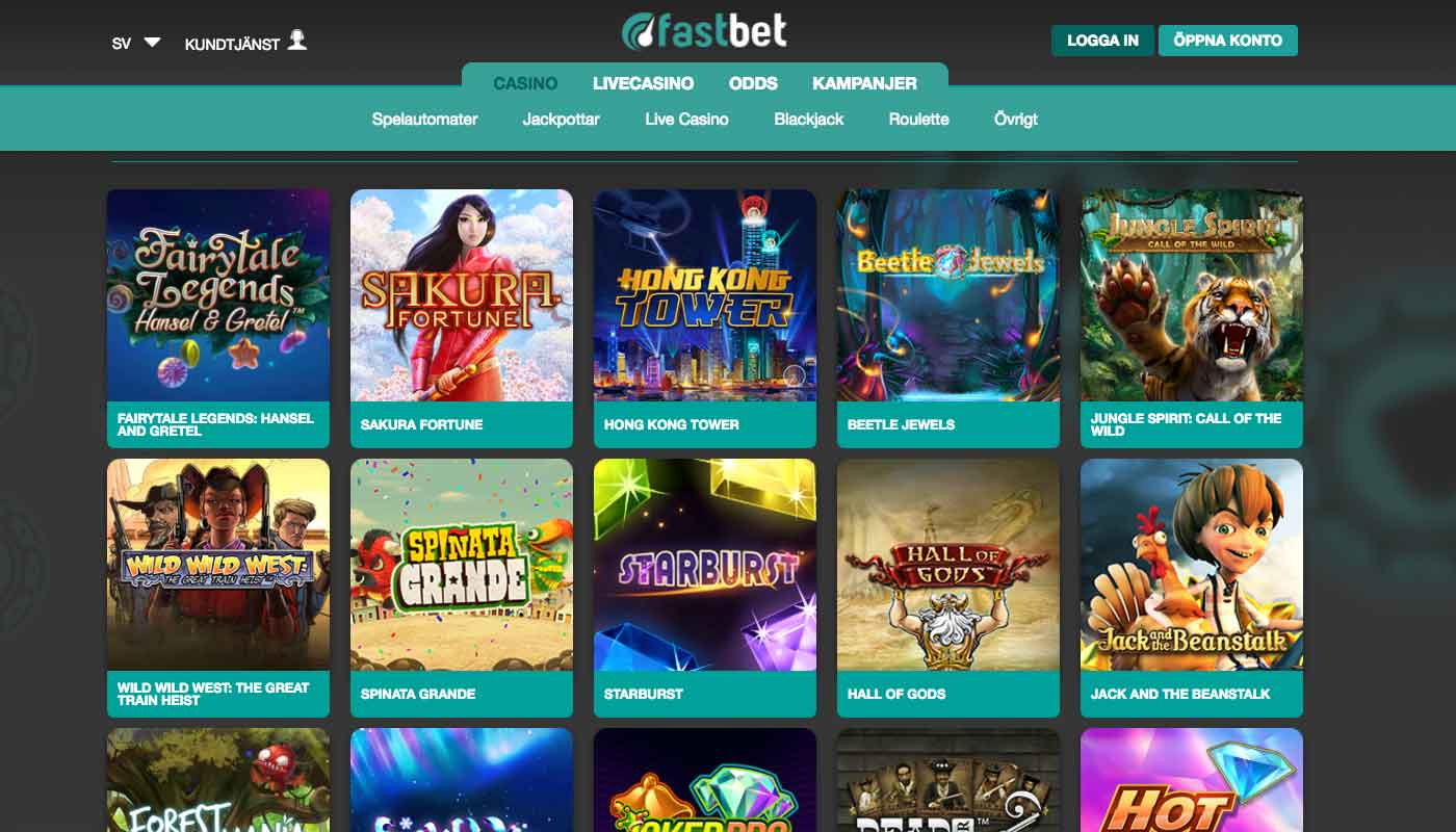 Fastbet screenshot