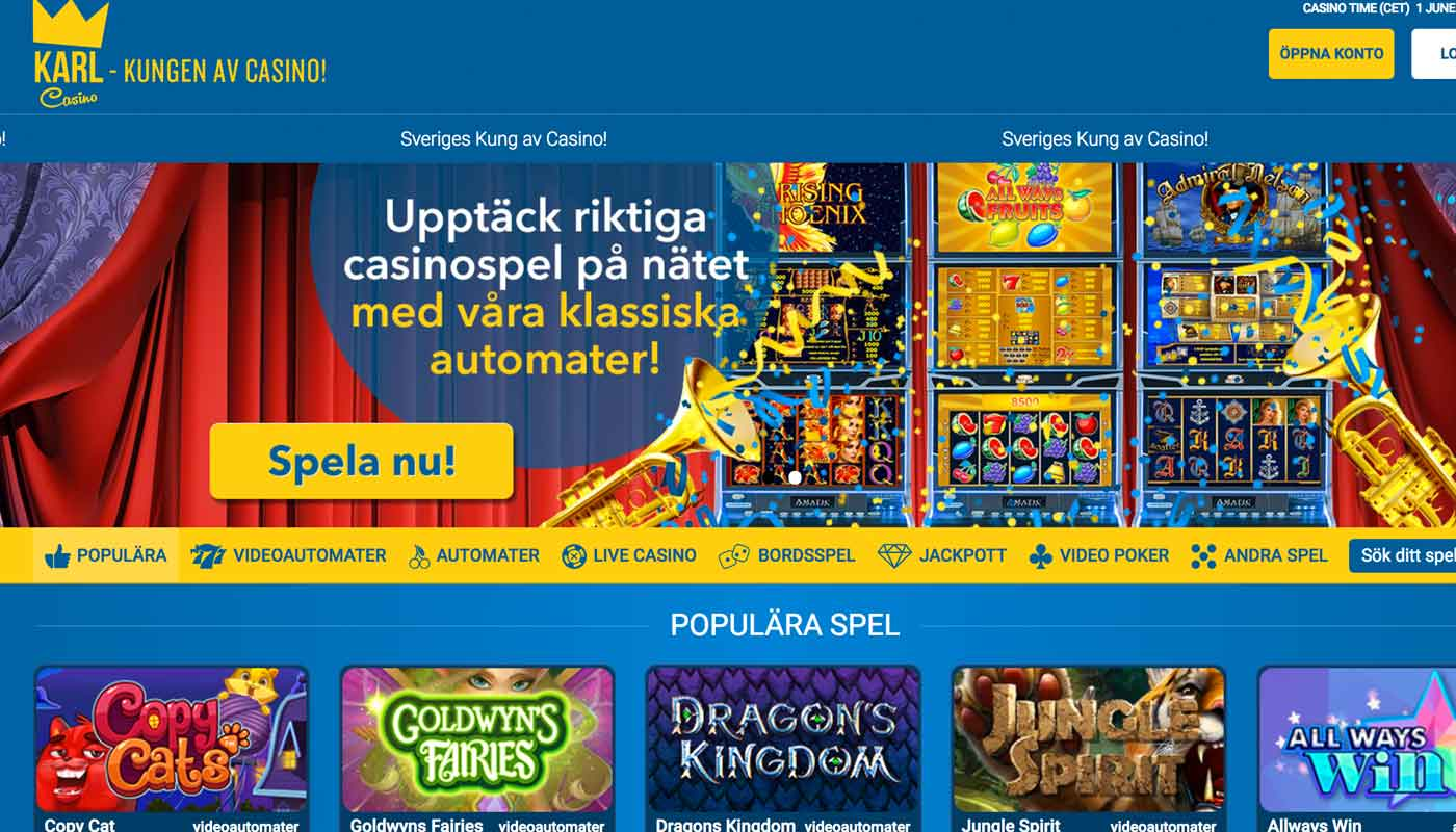Karl Casino screenshot