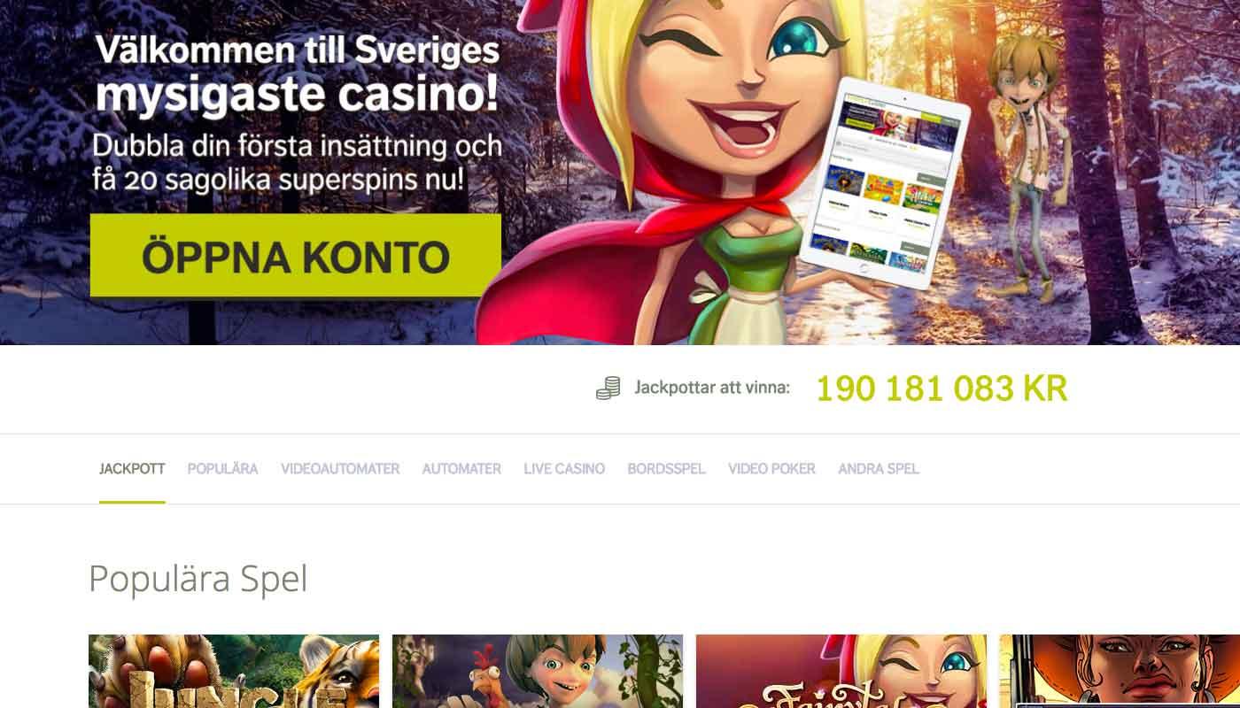 Svedala Casino screenshot